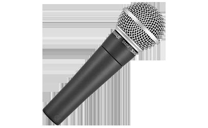 Hyr mikrofon SHURE SM58