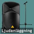 Hyra högtalare Stockholm - Komplett ljudanläggning